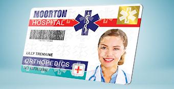 Stampante badge a termografia diretta
