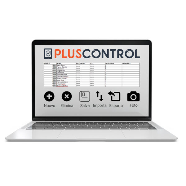 rilevatore presenza schermata 2 pluscontrol