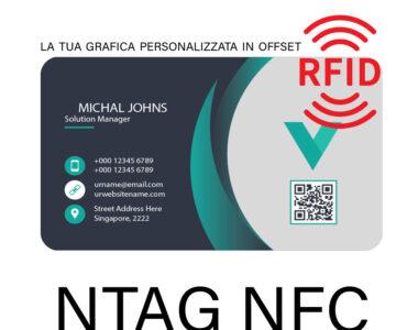 BIGLIETTI DA VISITA RFID